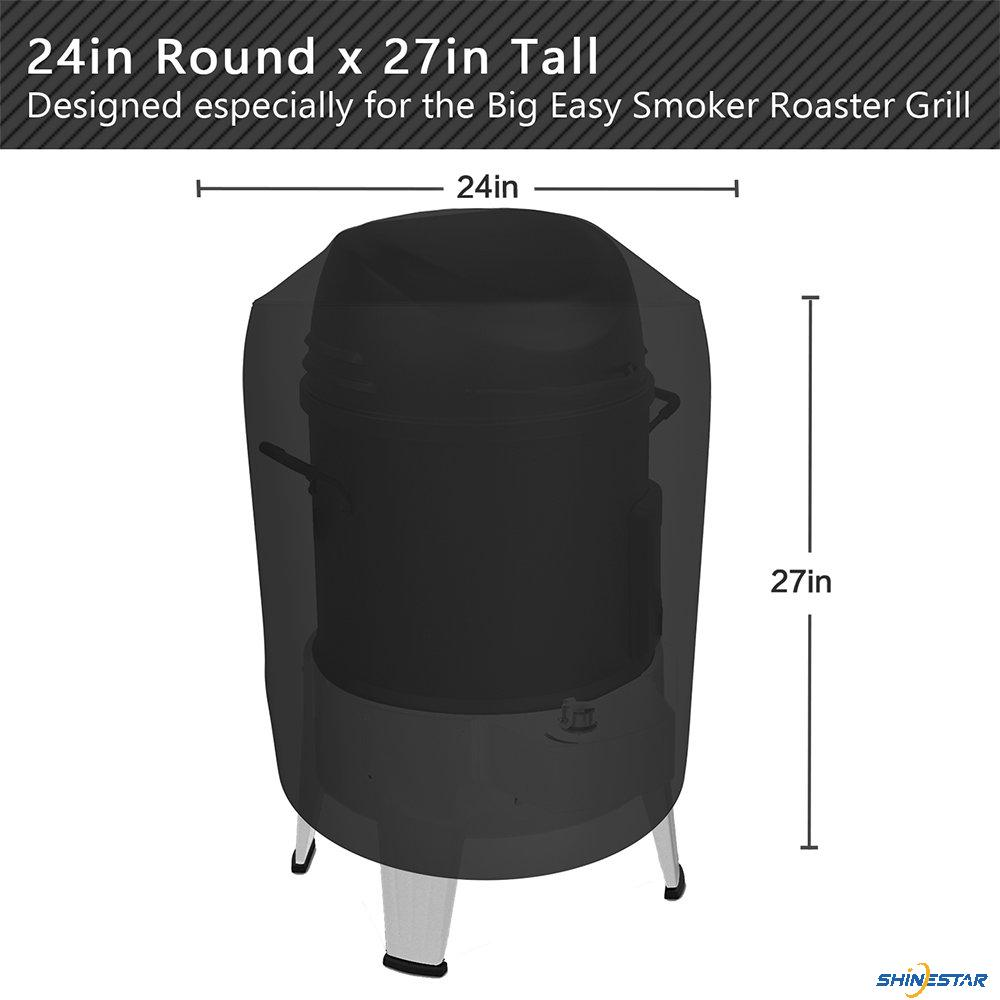 Shinestar Waterproof Grill Cover For Charbroil Big Easy Smoker